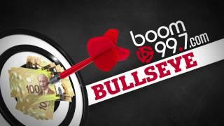 boom 99.7\'s BULLSEYE!