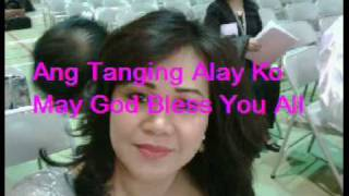 ANG TANGING ALAY KO. By : Sister Marilou Clavecilla The Original Singer
