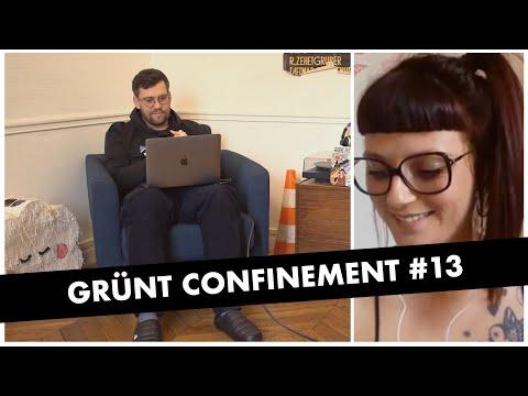 Youtube: Grünt Confinement #13 avec Tengo John et Redwane Telha