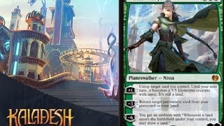 Kaladesh Spoilers Day 2: Nissa, Vital Force, Torrential GearHulk and More
