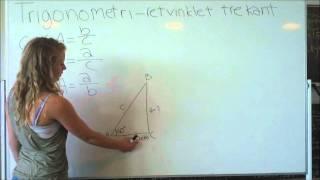 Repeat youtube video Video Matematik Cos(A), SIn(A) og Tan(A)