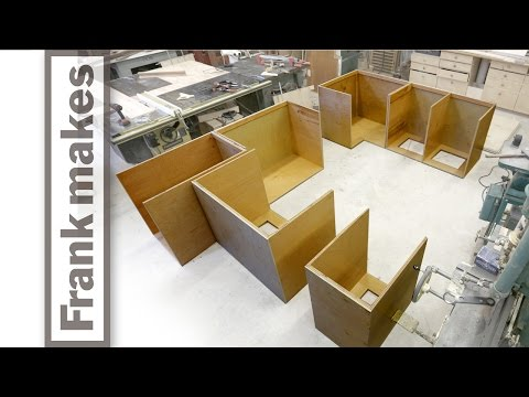 Kitchen Remodel: Part 4 - Cabinet Carcass