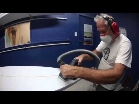 Building A Surfboard, Part Two: Plane Shaping