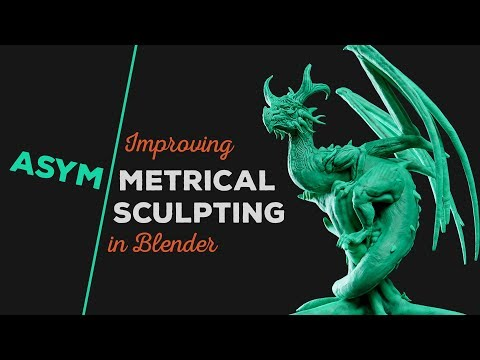 Improving Asymmetrical Sculpting in Blender
