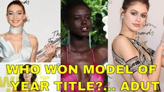 ADUT AKECH 19-YEAR-OLD  WINS MODEL OF THE YEAR TITLE