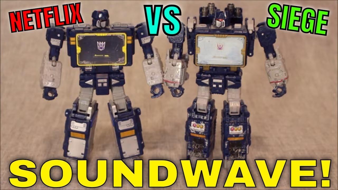 Soundwave Superior? Netflix Vs. Siege Soundwave in all Four Modes by GotBot