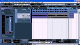 Cubase Video Tutorial - Lesson 30:  Punch In Out