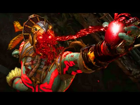 BLOOD GOD KOTAL KAHN! - Mortal Kombat X Kotal Kahn Gameplay (MKX Online Ranked)