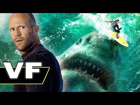 EN EAUX TROUBLES Bande Annonce VF (Film de Requin, 2018)