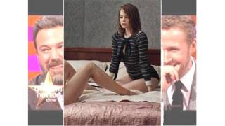 Emma Stone Natalie Portman And Amy Adams Perform I Will Survive