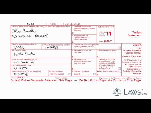 Learn How to Fill the Form 1098-T Tuition Statement