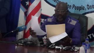 George Weah Delivers Acceptance Speech after Victory of the December 26 runoff election