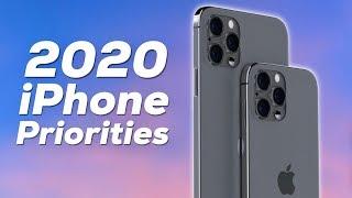 2020 iPhone Priorities