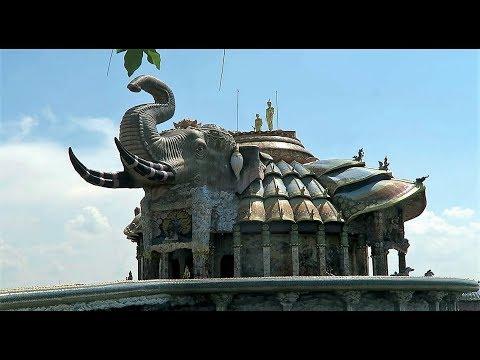 Wat Baan Rai, Elephant Temple Nakhon Ratchasima Korat ! Vlog 301
