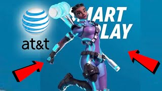 NEW AT&T FORTNITE PROMOTION SKIN! Pickaxe On Your Back In Fortnite? At&t FORTNITE Skin