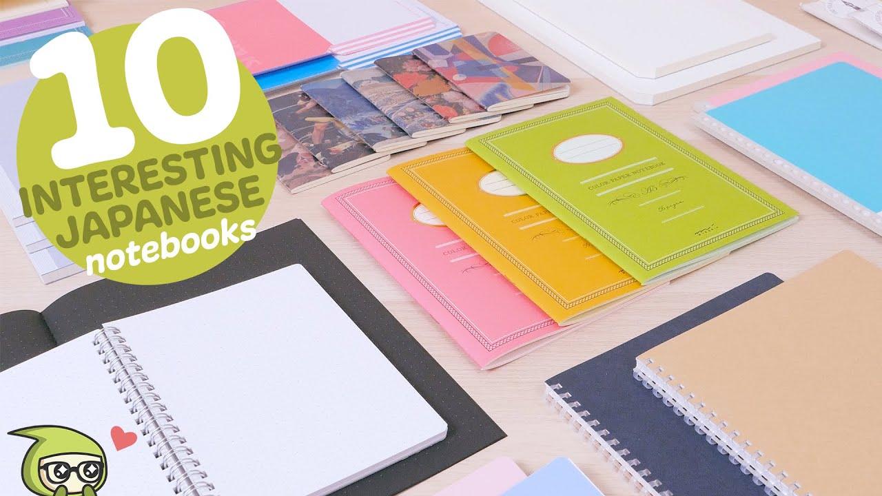 10 Interesting Japanese Notebooks