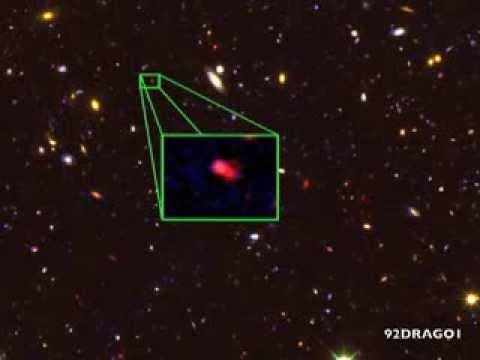 Ecco la galassia piu` distante nell'universo