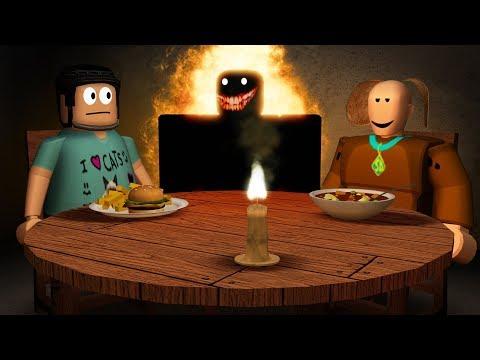 My Roblox dinner date got really weird.. (Camping)