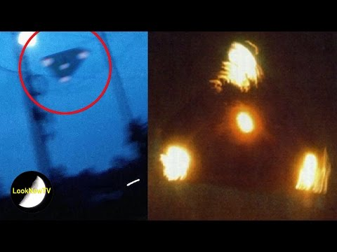 5 Most Credible UFO Sightings Caught On Camera!