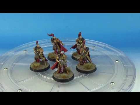 Warhammer 40k Sisters Of SIlence - Burning Of Prospero - Painted