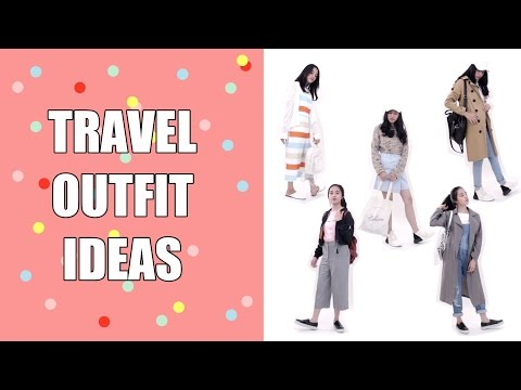 TRAVEL OUTFIT IDEAS LOOKBOOK