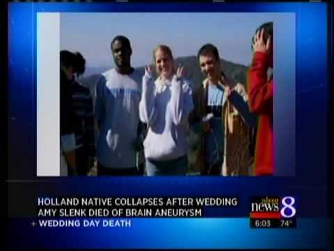 Ex-Holland woman dies on wedding day
