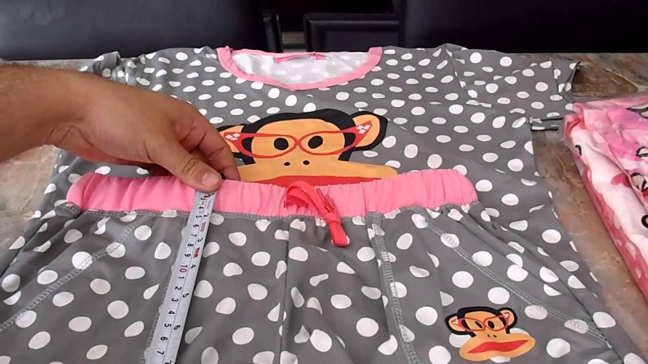 30c7a81cf8 Pijamas para dama - YouTube