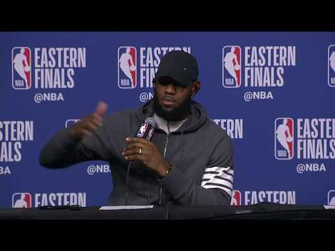 LeBron James Postgame Interview | Cavaliers vs Celtics Game 5