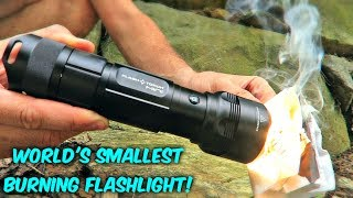 Testing Flashlight Torch Mini