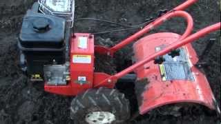 How to use a tiller or rotary hoe in the backyard