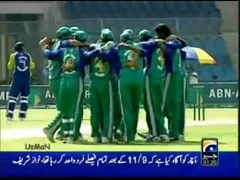 Yasir Ali From Hazro 4-25 v Karachi Dolphins ABN AMRO Cup... SSK LOVE