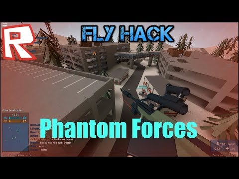 FLY HACKING IN PHANTOM FORCES!!! I ROBLOX Phantom Forces