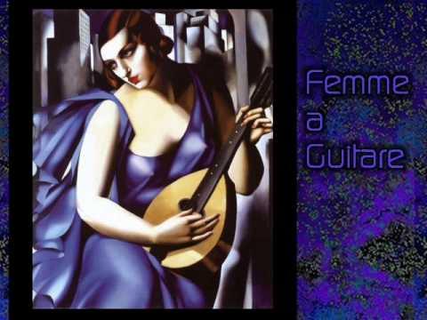 Tamara de Lempicka, my favorite painter