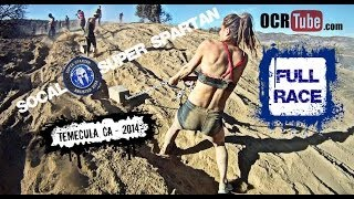 SOCAL SUPER SPARTAN RACE - Temecula, CA 2014 (Full Race)