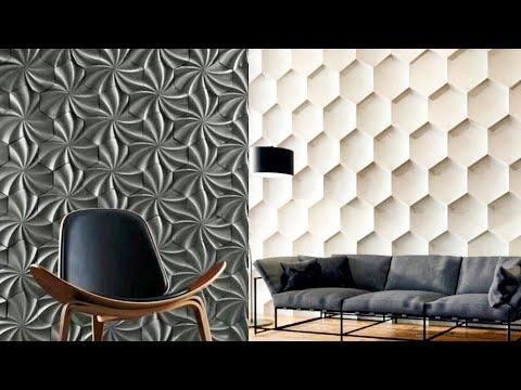 3d Wall Panel Design Ideas For Modern Home Interior Decoration Interior Decor Designs Youtube
