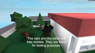 ROBLOX: Game Dev Progress (bank robbing game) [UNCOPYLOCKED]
