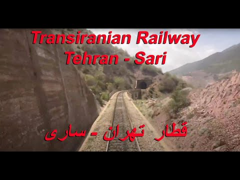 IRAN by Train over the Alborz Mountain Range  Tehran - Sari