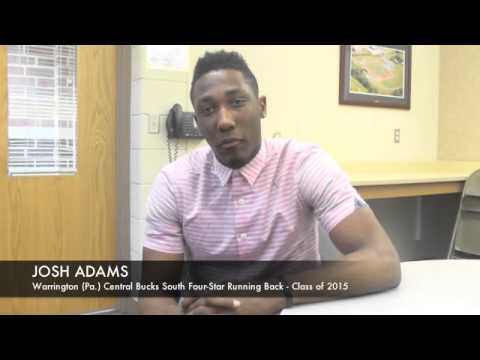 Josh Adams Talks Notre Dame And Others