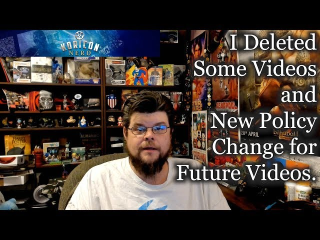 🎤 Nerd - I Deleted Some Videos and New Policy for Future Videos