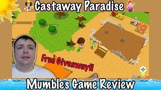 Castaway Paradise! - Animal Crossing 2.0? - Mumbles Game Review and Giveaway