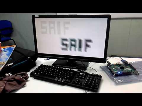 VGA Controller in Zedboard