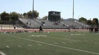 cody tuttle wr vs db 1 on 1 competition march 28 2010