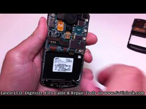Samsung i637 Jack Screen Disassemble/Take Apart/Repair Video Guide
