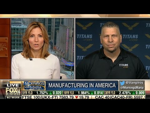 Titan Gilroy Discusses Manufacturing On FOX BUSINESS thumbnail