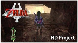 Zelda Twilight Princess 4k HD - PC - Goron Mines Gameplay
