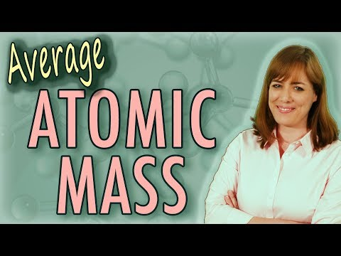 Chemistry:  Average Atomic Mass (amu, Daltons, etc.) - 2 examples | Homework Tutor