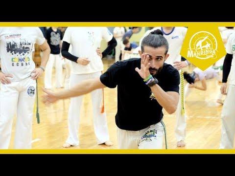 Mestre Tico(CDO Moscow) Highlight-2017 Capoeira Mandinga Taiwan Batizado