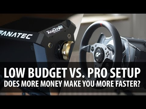 Does Better Sim Racing Hardware Make You a Better Driver? Low Budget vs. Pro Level Setup