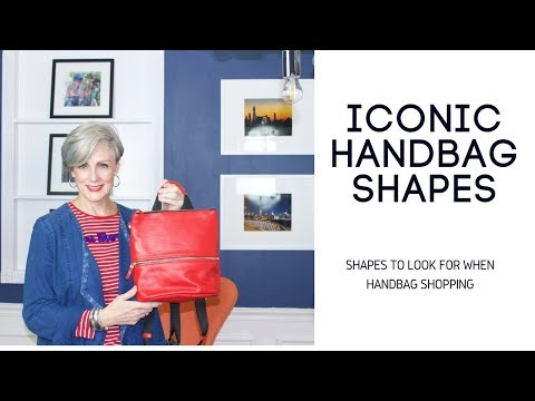 10 best handbag shapes | style over 50 | accessories