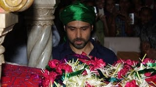 Emran Hashmi Visits Haji Ali Dargah For EK thi Daayan